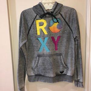 Roxy gray soft hoodie